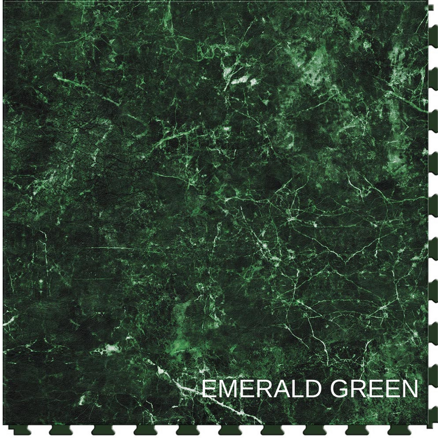 Perfection Floor Tile Natural Stone Gemstone Emerald Green