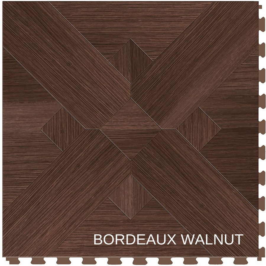Perfection Floor Tile Natural Stone Bordeaux Walnut