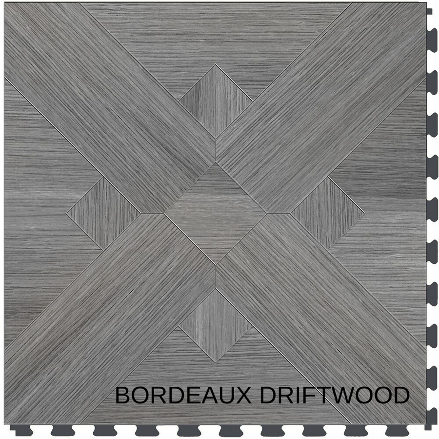 Perfection Floor Tile Natural Stone Bordeaux Driftwood
