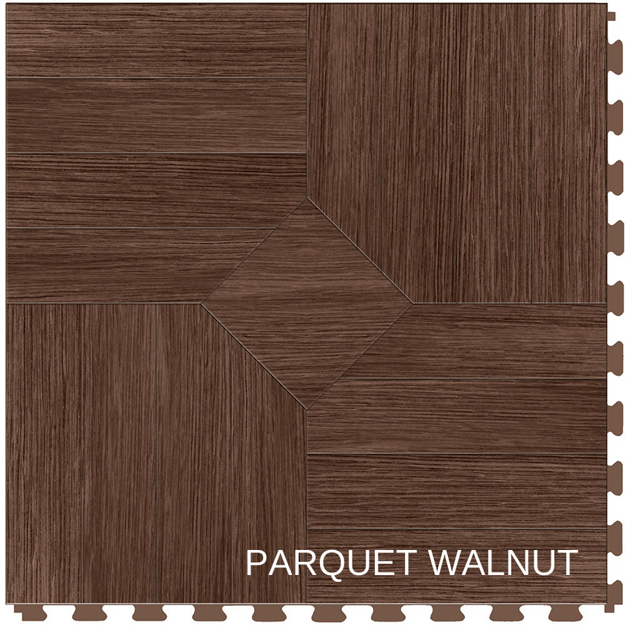 Perfection Floor Tile Natural Stone Parquet Walnut