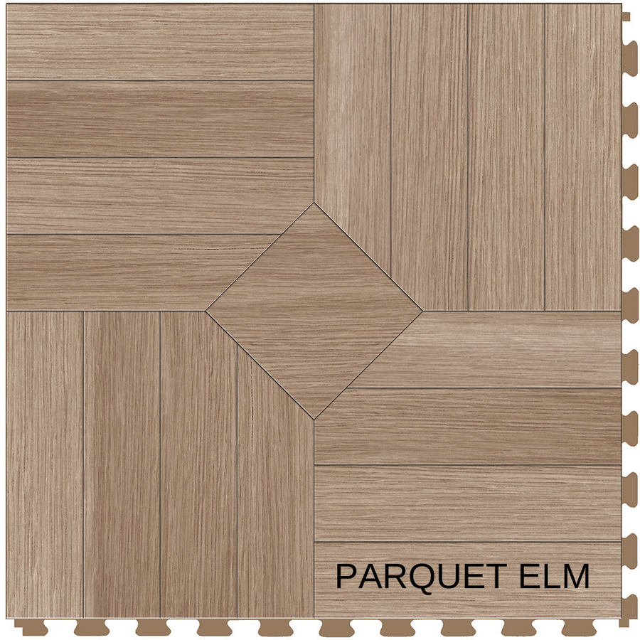 Perfection Floor Tile Natural Stone Parquet Elm