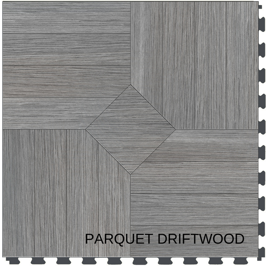 Perfection Floor Tile Natural Stone Parquet Driftwood