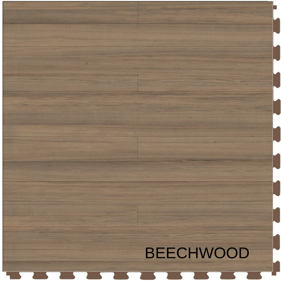Perfection Floor Tile Natural Stone Beechwood Plank