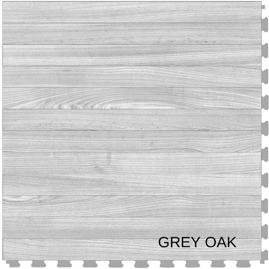 Perfection Floor Tile Natural Stone Grey Oak Plank