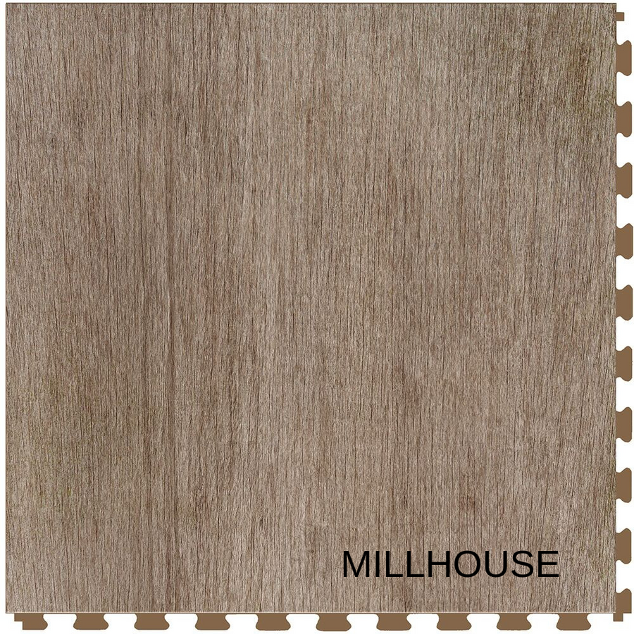 Perfection Floor Tile Wood Grain Millhouse