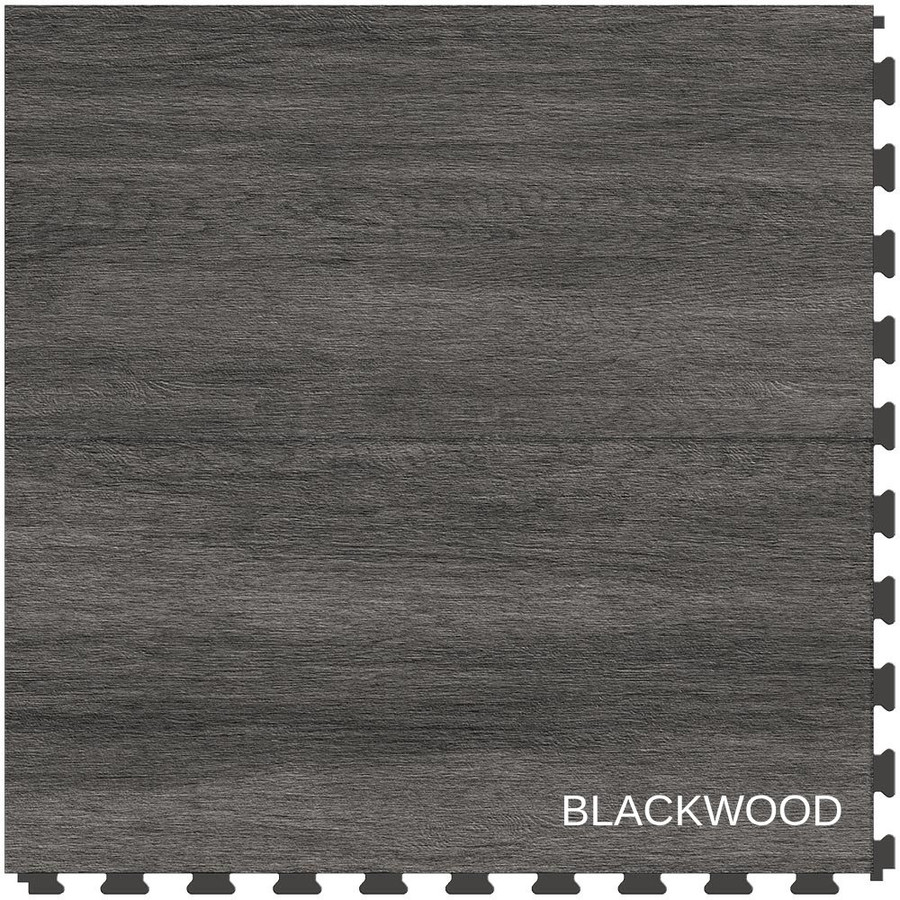 Perfection Floor Tile Wood Grain Blackwood