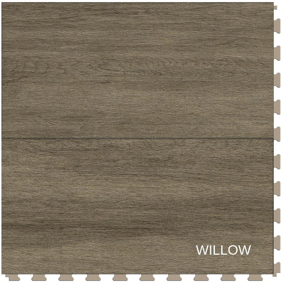 Perfection Floor Tile Wood Grain Willow