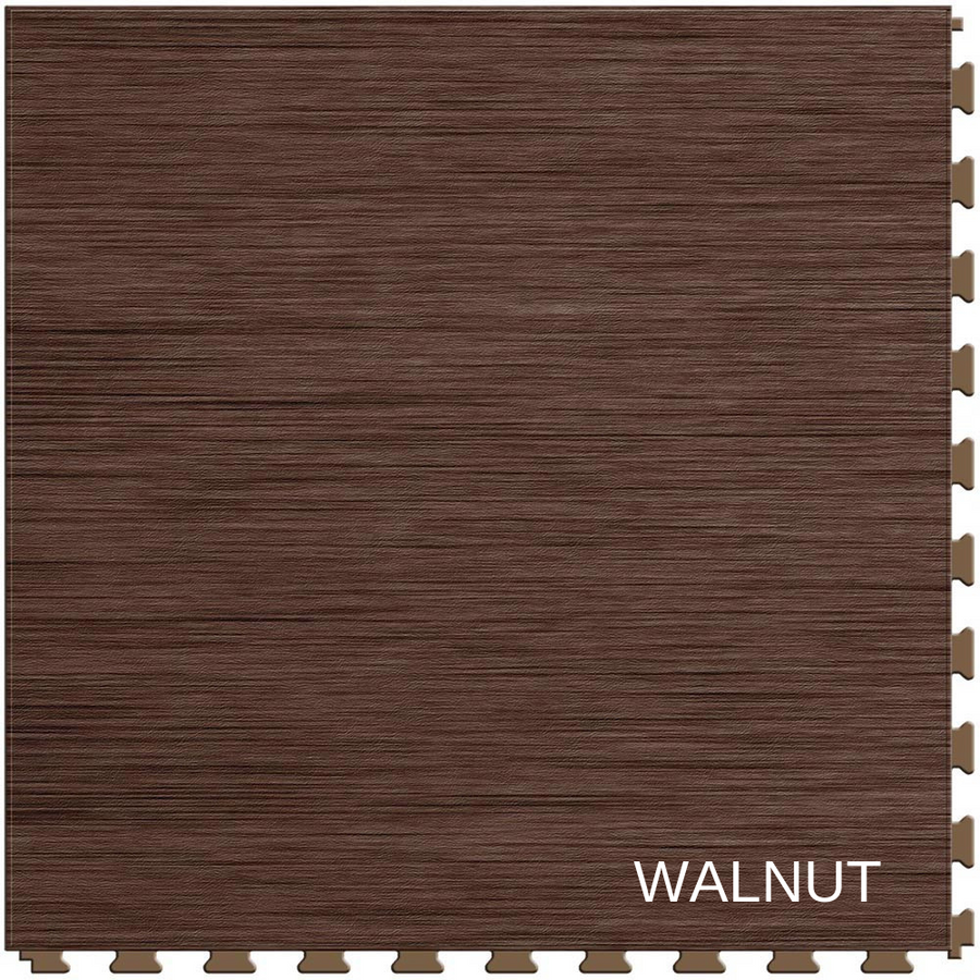 Perfection Floor Tile Natural Stone Walnut Flexible Interlocking Tiles