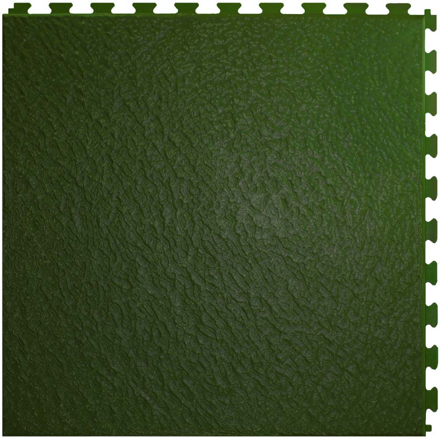 Home Style Slate Pattern Interlocking Tile Hunter Green, Flexi Tile, Perfection Floor Tile
