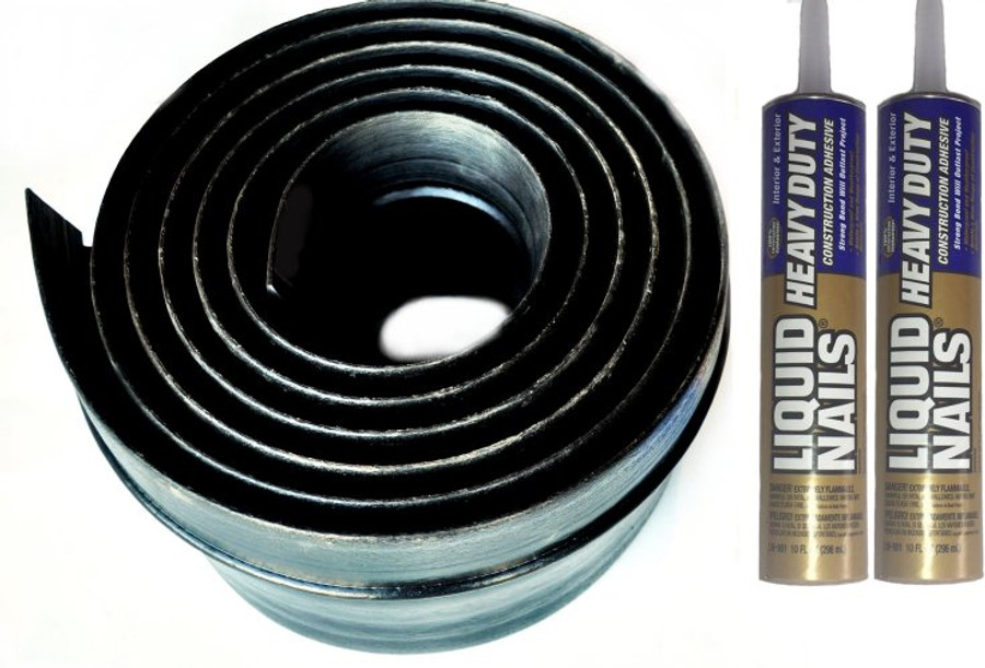 "Xtreme Weather Guard 6"" Wide XL Overhead Door Threshold Kit"