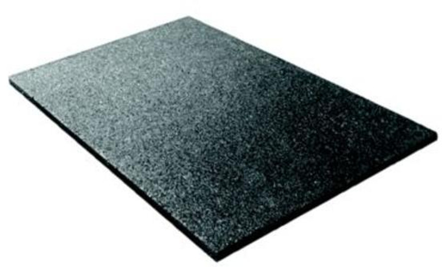 Black Rubber Survivor Sportfloor Crosfit MAts