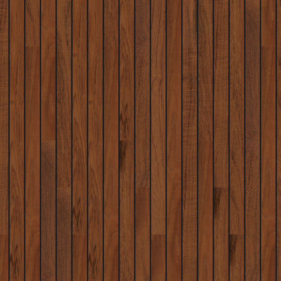 Aqua Tread Marine Roll Out Flooring, Mayan Teak Dark Stripe