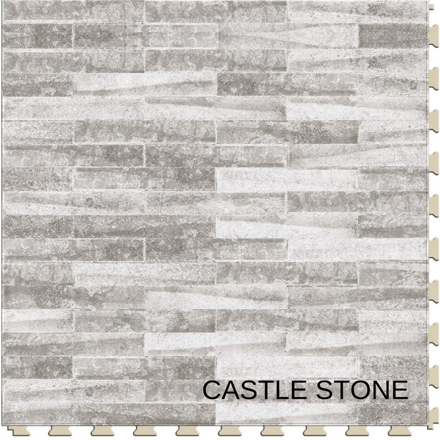 Perfection Floor Tile Castle Stone | Master Mosaic Collection
