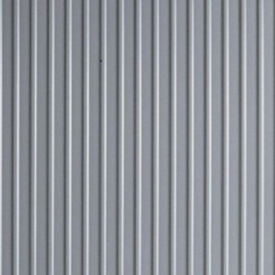 G Floor Roll Out Ribbed Pattern in Slate Grey