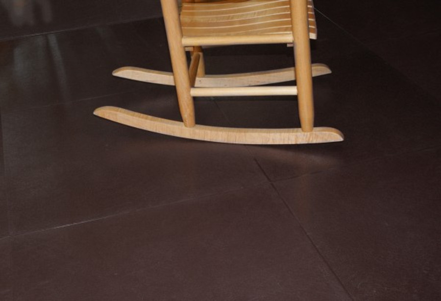 Perfection Floor Tile Leather Look Rawhide