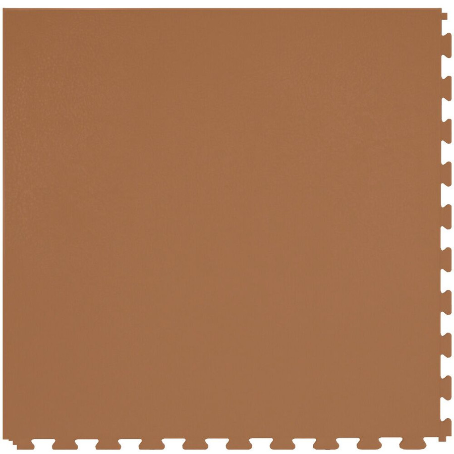 Perfection Floor Tile Leather Look Camel