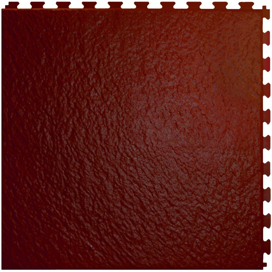 """Perfection Floor Tile Rosewood 20"""" x 20""""  x 5MM, Made in USA, Homestyle Slate"""