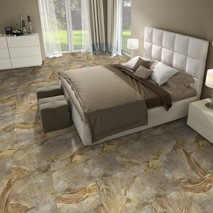 Canyon Stone - Natural Stone installed in a bedroom