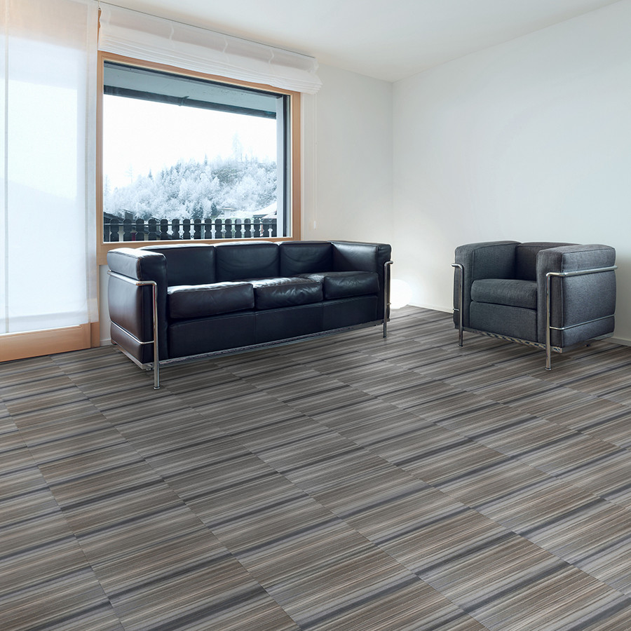 Smokey Mountain - Natural Stone installed in a office