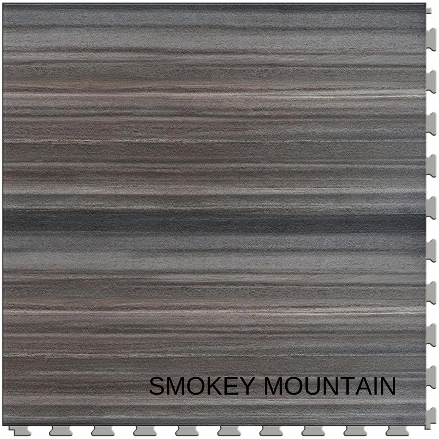 Perfection Floor Tile Natural Stone - Stone Creek Collection - Smokey Mountain