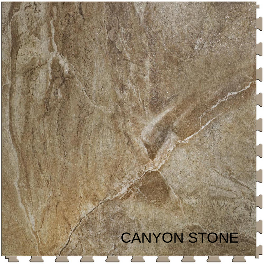 Perfection Floor Tile Natural Stone - Stone Creek Collection - Canyon Stone