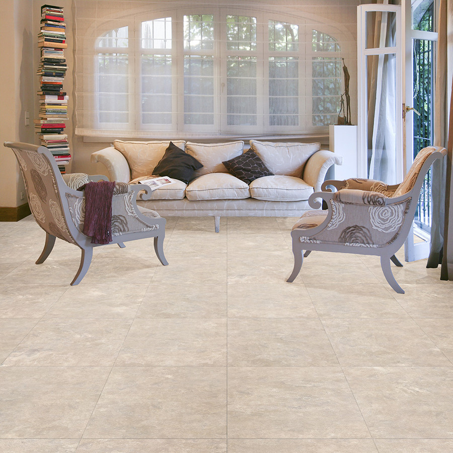 Fieldstone used in a sitting room