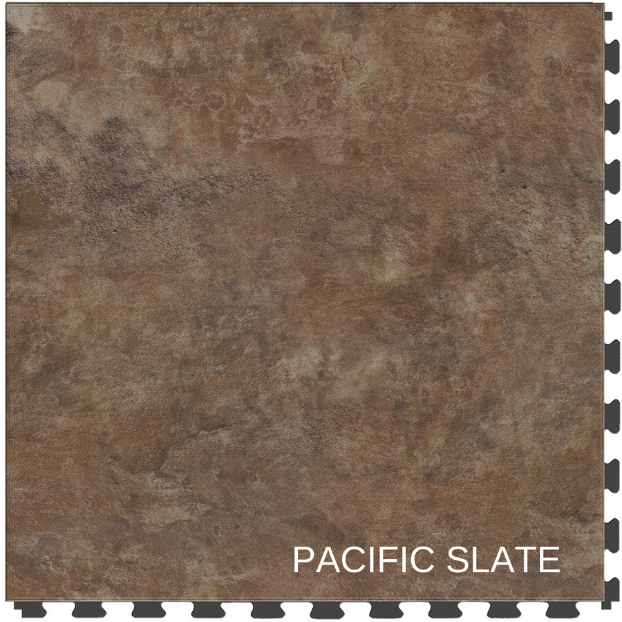 "Perfection Floor Tile Natural Stone Pacific Slate 20"" x 20"" x 5MM"
