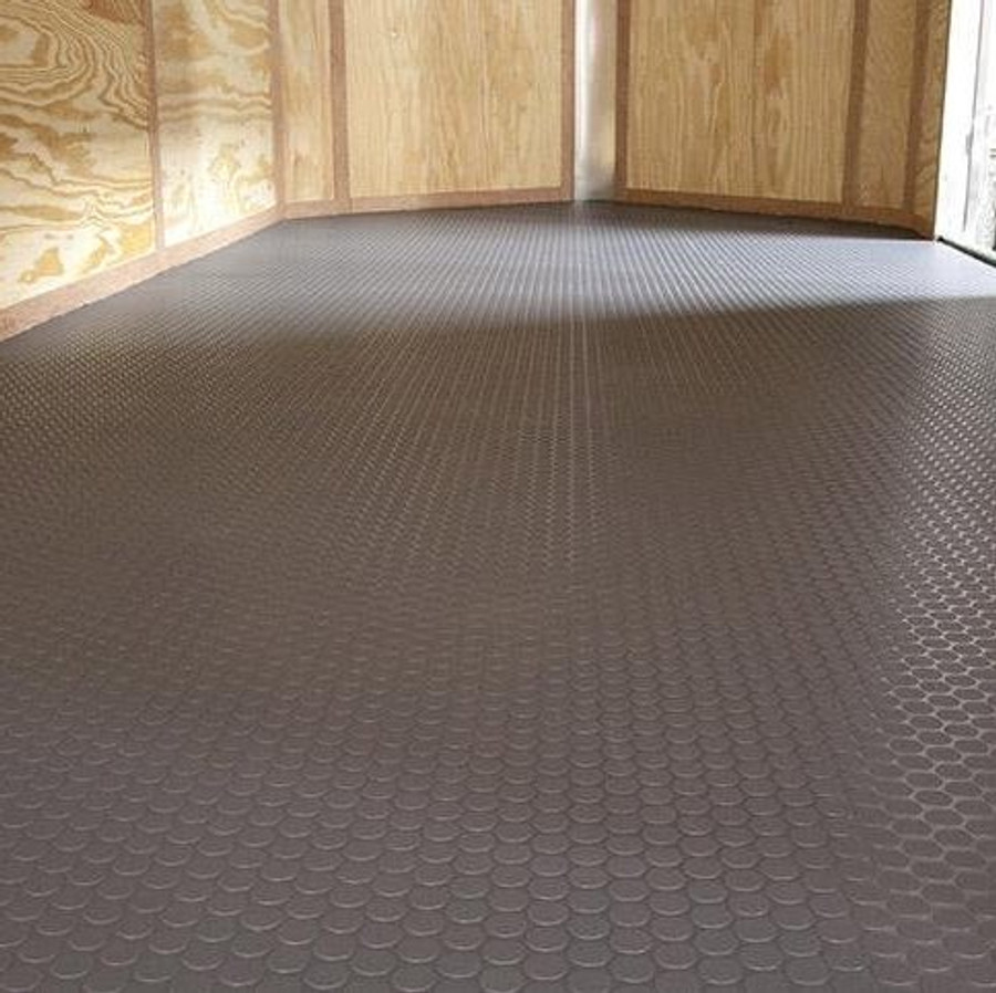 G Floor Rollout Flooring Small Coin  60 Mil Trailer Flooring