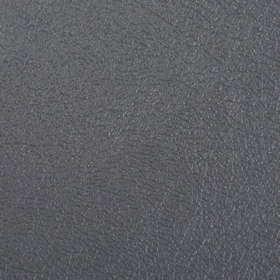 G Floor Levant Smooth Leather Texture Roll Out Vinyl Flooring Midnight Slate Grey