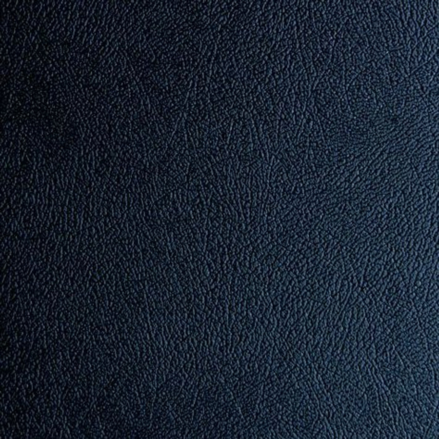 G Floor Levant Smooth Leather Texture Roll Out Vinyl Flooring Midnight Black