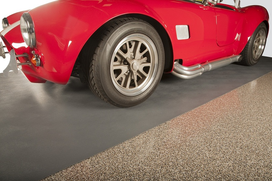 G Floor Levant Smooth Texture Parking Pad