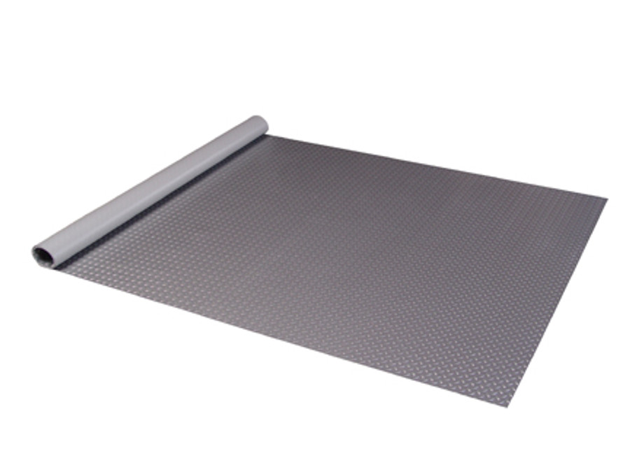 Diamond Deck Roll-out Flooring - Battleship grey