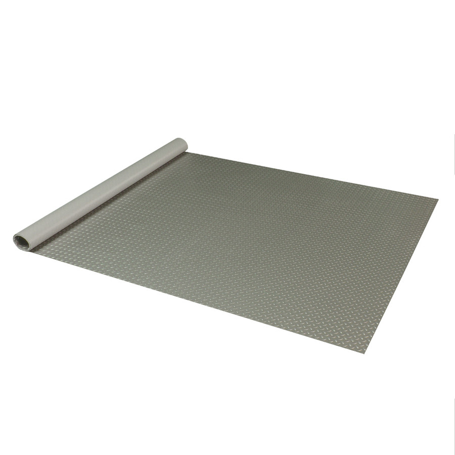 RoughTex Diamond Deck Roll-Out Flooring 2.9 mm Overall Thickness - Pewter Roll Out