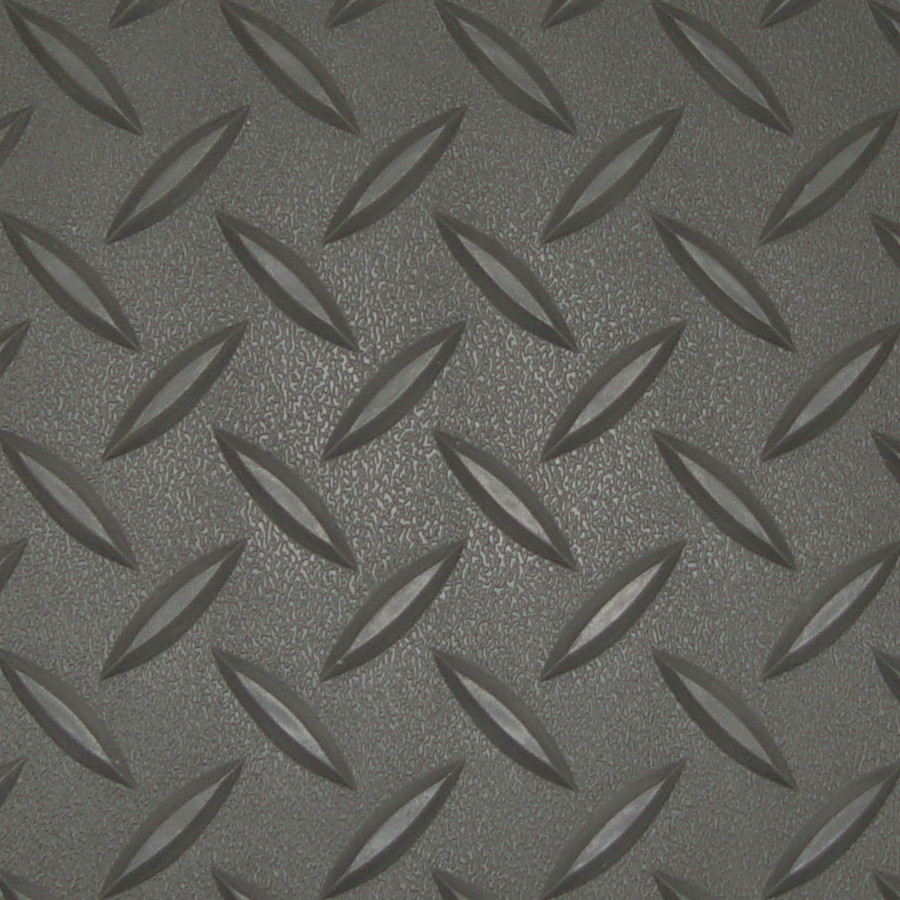 RoughTex Diamond Deck Roll-Out Flooring 2.9 mm Overall Thickness - Charcoal Close Up