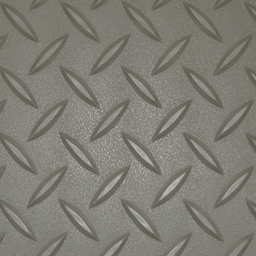 RoughTex Diamond Deck Roll-Out Flooring 2.9 mm Overall Thickness - Pewter Close Up