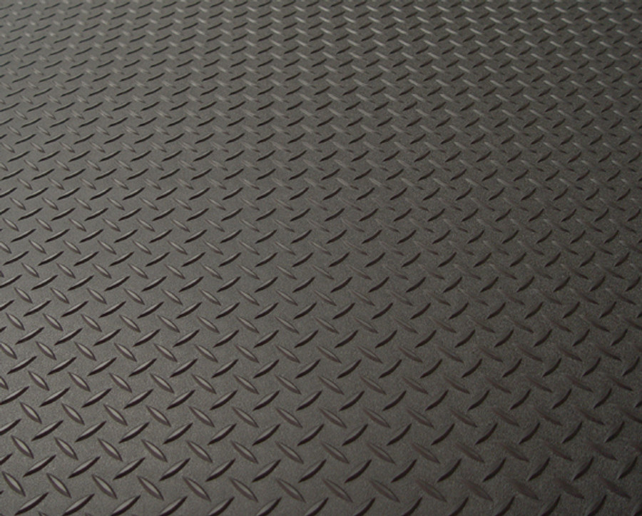 RoughTex Diamond Deck Rollout Flooring 2.9mm Overall Thickness - Black
