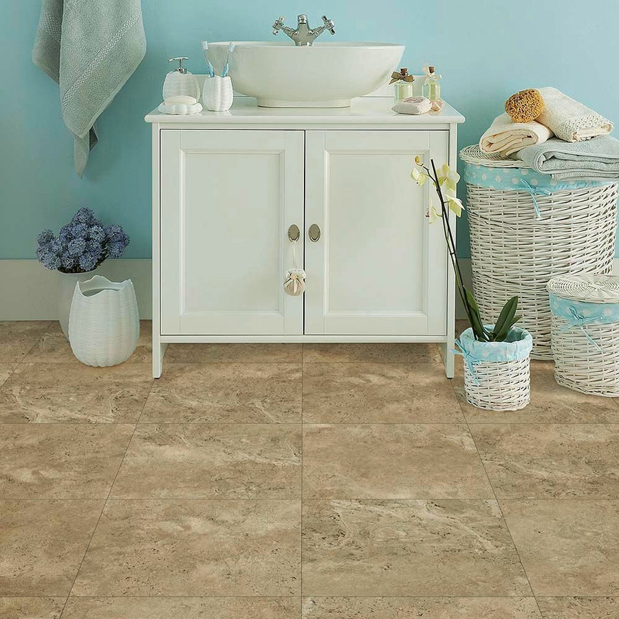 Perfection Floor Tile Natural Stone - Travertine Collection (6 Color Options) | 6 Tiles/ Case | 16.62 SQFT/ Case