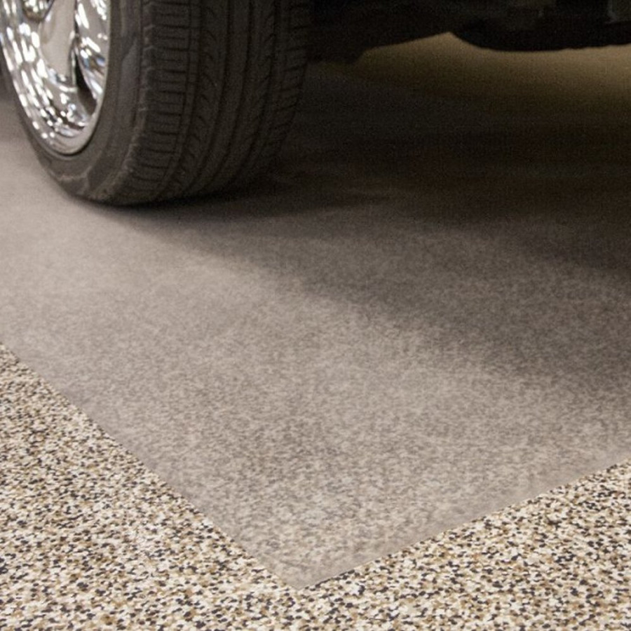 G Floor Vinyl Parking Pad Levant Clear
