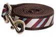 Chocolate Snow Cone Stripe Leash