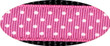 Pembroke Polka Dot Dog Harness-Pink