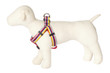 Bubble Gum Dog Harness - Yummy Gummy on Red