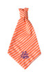 Southern Charm Collection - Orange Stripe - Neck Tie