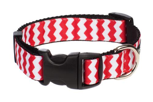 Chevron Red Collar
