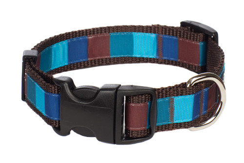 Chocolate Snow Cone Dog Collar-Ice Block