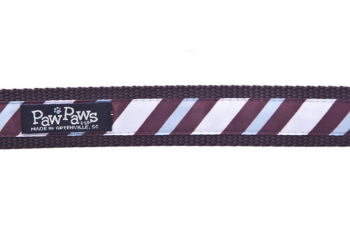 Chocolate Snow Cone Stripe Swatch