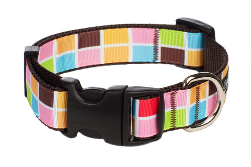 Indie Craft Dog Collar-Ticket Booth