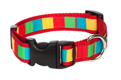 Bomb Pop Dog Collar - Rocket Pop Block