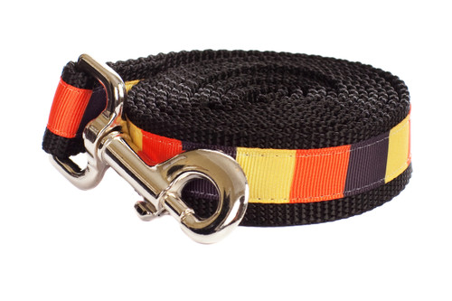 Halloween Dog Leash - Candy Corn Block