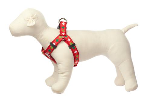 Christmas Morning Dog Harness - Christmas Stocking Stars