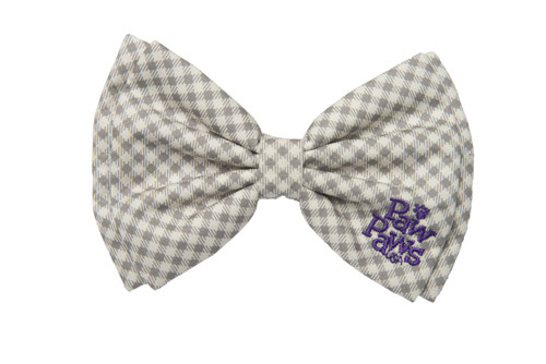 Southern Charm Collection - Checks Ash - Bow Tie